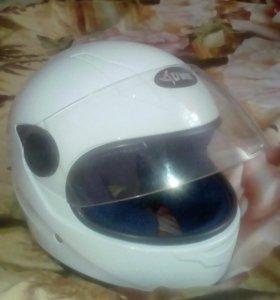 Подросковый мото шлем