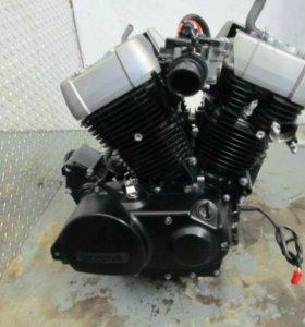 Двигатель honda shadow VT750C2B