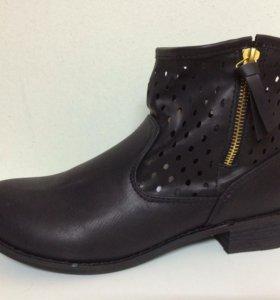 Новые ботинки Top secret черные