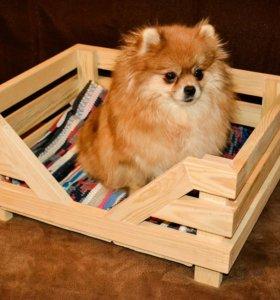 Домик для собаки. Лежанка