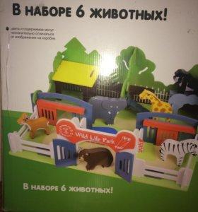 Деревянный зоопарк