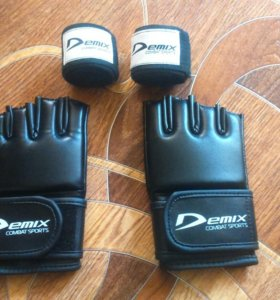 Перчатки бинты для рукопашного боя