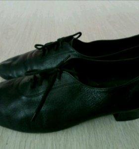 Туфли мужские, латина