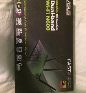 Новый Роутер ASUS DSL-N55U N600