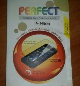 Защитное стекло для iPhone 5/5s/5se и 6/6s