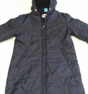 Новая удлинённая куртка 5-7 лет