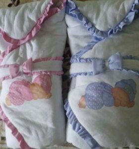 Конверт-одеяло для двойни