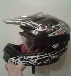Шлем для мото кросс