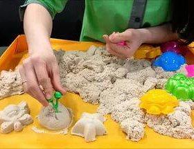 Космический песок  2кг. Натуральный цвет