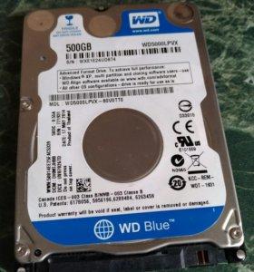 Жёсткий диск 500GB для ноутбуков и ПК