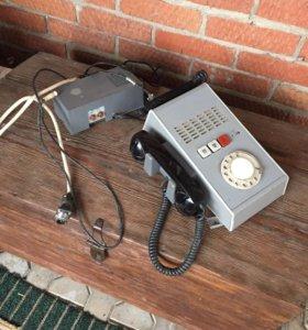 Военный телефон из Кунга связи