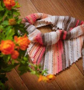 Детский бактус (шарф-косынка)