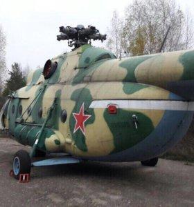 Вертолёт с военной консервации