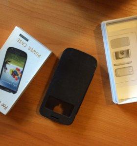 Чехол батарея для Samsung s4 mini