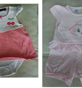 Одежда для девочки на лето
