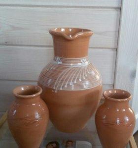 Глиняный кувшин (набор)