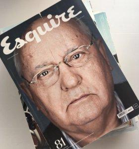 """Журналы  """"esquire"""""""