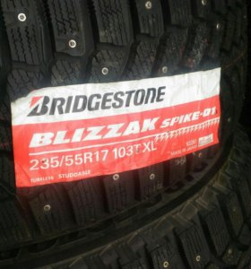 Bridgestone blizzak spike-01