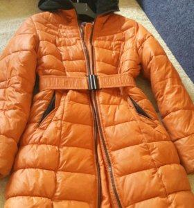 Пальто на девочку рост 152