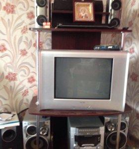 Телевизор ;центр 5+1;тумба