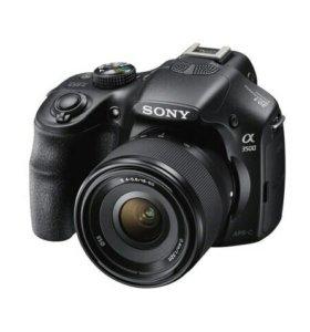 Цифровой фотоаппарат со сменной оптикой SONY