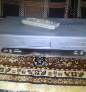 Видеомагнитофон VHS , DVD
