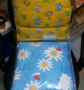 Комплекты для кроватки с подушками