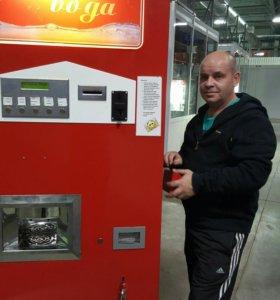 Торговый аппарат по продаже газированной воды