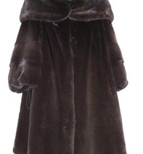 Шуба норковая мех Blackglama (обмен)