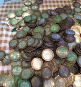 Юбилейные монеты по штучно не продаю