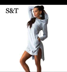 Толстовка платье