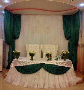 Свадебные украшения, декор, сундучки, быки