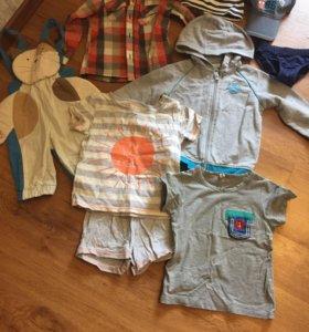 Вещи для мальчика 2-3 года