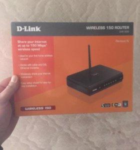 Wi-Fi Роутер D-Link новый!!