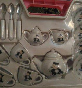 Набор детской фарфоровой посуды
