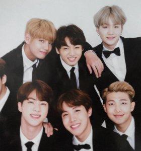 Плакаты BTS