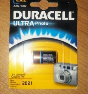 Duracell ultra photo батарейка для фотоаппарата