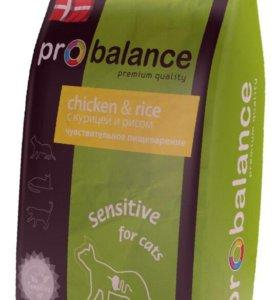 Корм для кошек Probalance Sensitive 10 кг.