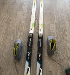 Лыжи беговые 140 сантиметров