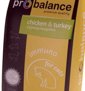 Корм для кошек ProBalance Immuno курица10кг