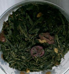 Чай зеленый Земляника в карамели