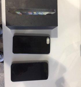 iPhone 5.,black,16gb.
