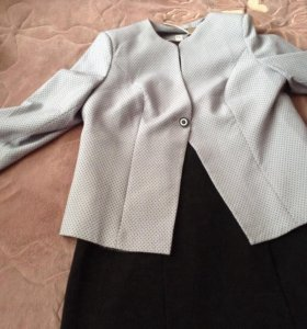 Костюм из платья и пиджака