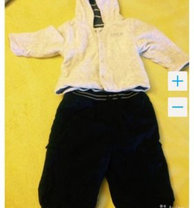 Продам детский комбез и спортивный костюм