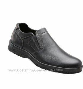 Кожаные туфли повседневные