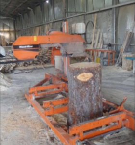 Ленточная пилорама wood mixer, дровокол, бревнотас