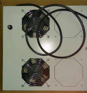 Вентилятор для серверного шкафа с термостатом