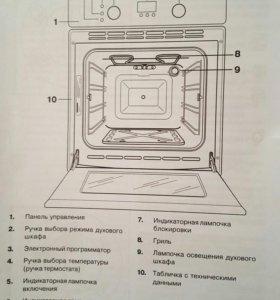 Духовой шкаф Electrolux EOG 1733 K