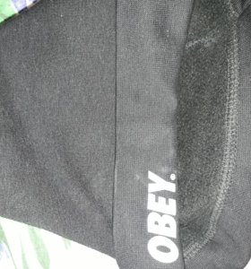 шапка obey на флисе