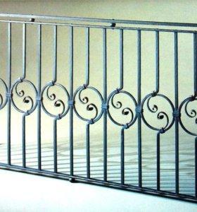Кованый балкон арт.4